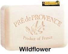 Pre de Provence WILDFLOWER 250 Gram French Soap Bath Shower Bar Shea Butter XL