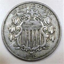1866 Shield Nickel Beautiful High Grade Coin Rare Date