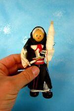 Vieja rümänische Trachten muñeca costurera mujer 16 cm Arta textila bucaresti