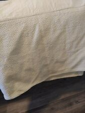 SHAVEL HOME PRODUCTS Matelasse Bed Skirt Full Cotton Portugal Split Corners