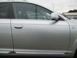 Tür vorne rechts Audi A6 4F ALLROAD LICHTSILBER LY7W silber