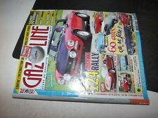 ** Revue Gazoline n°234 Fiat 124 Abarth Rally / Peugeot 201 Coupe de Luxe
