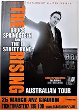 BRUCE SPRINGSTEEN POSTER 2 FOR 1 FREE AUSTRALIA TOUR 2003 RISING Rock Concert