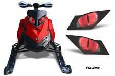Headlight Eye Graphics Kit Decal Cover For Ski Doo Rev XP Summit 08-12 ECLIPSE R