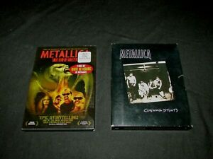 Metallica - Cunning Stunts (1998) & Some Kind of Monster (2004) both 2-Disc Sets