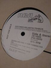 "EURYTHMICS & ARETHA FRANKLIN PROMO SISTERS ARE DOIN' IT FOR THEMSELVES 12"" LP"