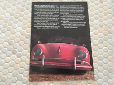 PORSCHE 356 944 TURBO 911 TURBO 928 S 959 SHOWROOM FOLDER BROCHURE 1986 USA