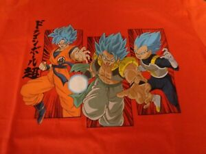 Old Navy Dragonball Z SS T-Shirt Youth Boys Extra Large XL (14-16) Red NWT