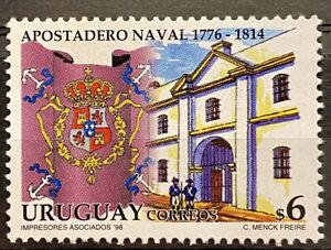 URUGUAY - NAVAL APOSTADERO 1776 1814 - MNH STAMP