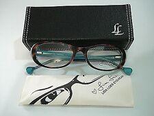 Lisa Loeb Eyewear Train 136 C2 Tortoise Aqua Eyeglasses Rx-Able Frame