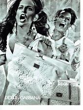 Publicité Advertising 058   2011   Dolce & Gabbana collection sac à main