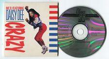 MC B. feat. Daisy Dee Maxi-CD CRAZY 1990 Cardsleeve West Germany Eurodance 4-tr.