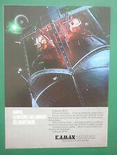1980'S PUB KAMAN HELICOPTER SH-2F US NAVY ASM SAR PILOT HELMET FRENCH AD