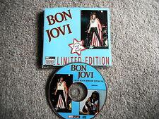 BON JOVI RARE CD LTD ED INTERVIEW PICTURE DISC BAKTABAK CHAK 4004 EXC