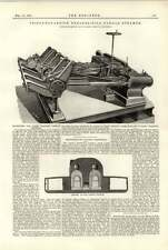 1891 macchine per la luce da tiro PADDLE STEAMER Southampton LAVORI NAVALI
