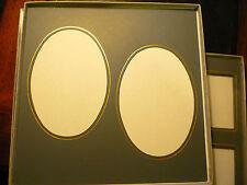 Art Leather--Professional Photo Album mats--matting--NEW--Gray--Large lot