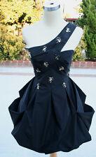 NWT BCBG MAX AZRIA $368 Black Homecoming Prom Dress 12