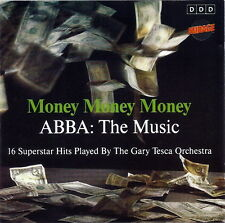 MONEY MONEY ABBA : The Music (16 Instrumental Hits by G.T. Orchestra) CD