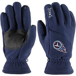 NWT NFL Tennessee Titans 180's Reebok Winter Fleece Gloves W/ Exhale Heating™