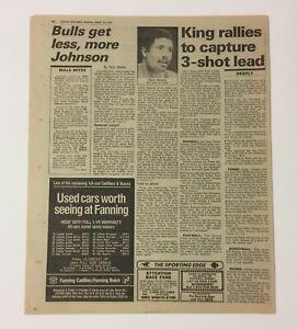 Rare Original 1984 Chciago Sun-Times Newspaper Michael Jordan Chicago Bulls NBA
