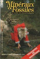 Revue Minéraux & Fossiles Guide Collectionneur 1987 No 147 FULGURITES MAURITANIE