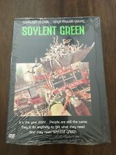 NEW Factory Sealed! Soylent Green Charlton Heston Leigh Taylor-Young Sci-Fi