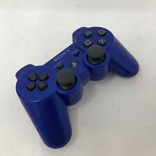 Genuine OEM Sony PS3 Sixaxis Dualshock 3 Controller Blue Playstation 3 CECHZC2U