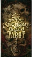 Alchemy 1977 England Tarot by Tarocchi Metafisici Gothic Dark Theme Divination