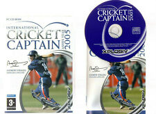 INTERNATIONAL CRICKET CAPTAIN ASHES YEAR 2005. EXCELLENT GAME FOR PC!!