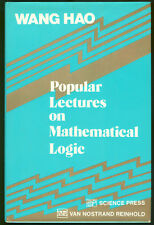 Math Logic wanh Hao Popular Featuring on mathematical logic Science press