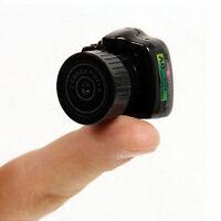 Wearable HD Webcam Mini Spy Camera Video Recorder Pinhole Camcorder DV DVR New
