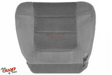 2001 2002 Ford F150 XLT Super Crew 4DR -Driver Side Bottom Cloth Seat Cover Gray