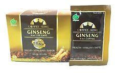 4 X Coffee King Ginseng Coffee Premium Cafe Latte American Ginseng MADE IN USA