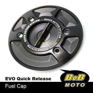 For BMW R1200S R1200R S1000RR 10-20 F800R / S Black Quick Lock Fuel Gas Cap