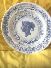 Queen Victoria 1887 Golden Jubilee Worcester Presentation Plate