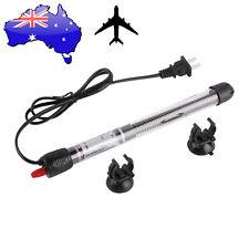 200W Aquarium Mini Submersible Fish Tank Adjustable Water Heater + AU DZ&&