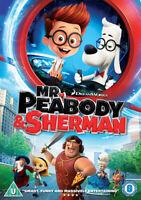 Mr. Peabody and Sherman DVD (2014) Rob Minkoff cert U ***NEW*** Amazing Value