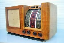 Ancien et rare poste radio à lampes REYVOX Albi vintage