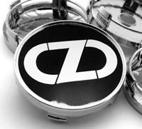 4pcs 60 mm for OZ Racing Black Emblem Alloy Wheel Center Caps Hub Caps Rim Caps