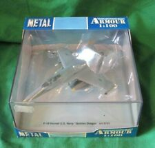 ARMOUR COLLECTION McDONNELL DOUGLAS F-18 HORNET US NAVY JET FIGHTER 1/100 #5161