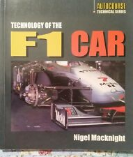 ⭐️⭐️⭐️Technology Of The F1 Car By Nigel Macknight 1998 FREE💰SHIP⭐️⭐️⭐️