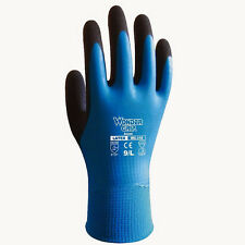 Nylon Rubber Wonder Grip Glove Finger Mitten Latex Coating Waterproof Wearproof