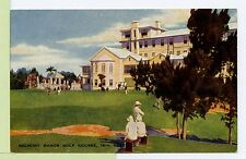 VINTAGE POSTCARD Belmont Manor Golf Course 18th Hole Bermuda