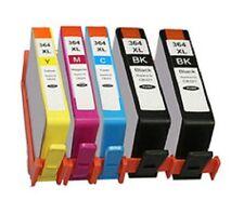 5 x Druckerpatronen für HP Photosmart C309A C309G C310A C410B / 364 364XL Tinte