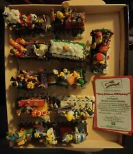 11 Pezzi The Simpsons Christmas Express Collection Rare