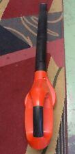 Black & Decker Ns118 Cordless Leaf Blower Broom 18 volt Bare Tool Only! Works!