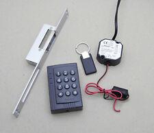 Zutrittskontrolle mit PIN-Code & RFID, inkl. Netzteil, Türöffner und Transponder