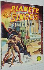 PLANETE DES SINGES N°9 OCTOBRE 1977 LUG TAYLOR ZIRA CORNELIUS BD EO