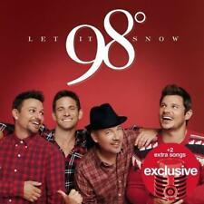98 Degrees Let it Snow Target Exclusive Audio CD NEW