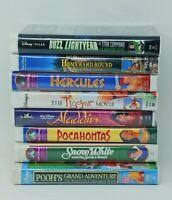 Lot of 8 - Disney VHS movies